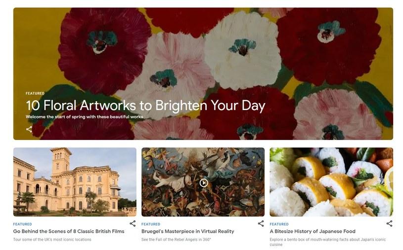 Google Arts & Culture /materiał zewnętrzny
