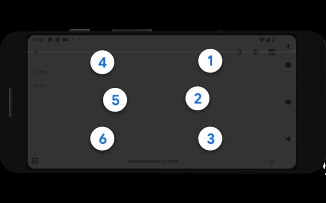 Google Braille'a TalkBack /materiały prasowe