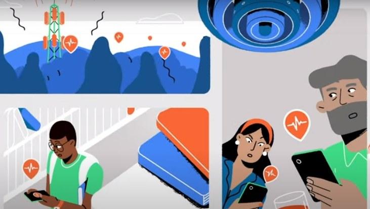 Google chce pomóc w wykryciu trzęsienia ziemi /YouTube