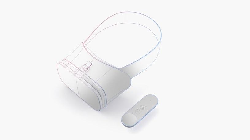 Google Daydream - szkic koncepcyjny przedstawiajacy, jak może wyglądać sprzęt VR nowej generacji /materiały prasowe