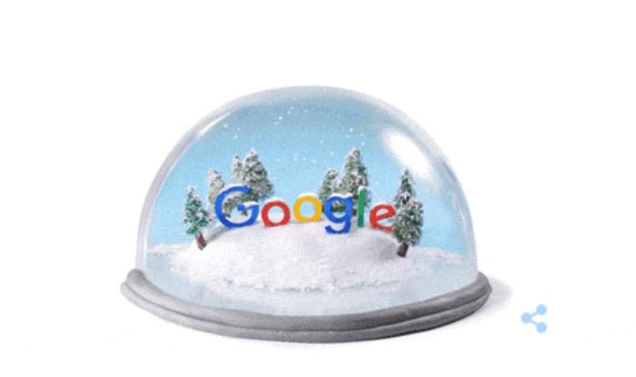 Google Doodle, 22.12.2015 /Google.com /