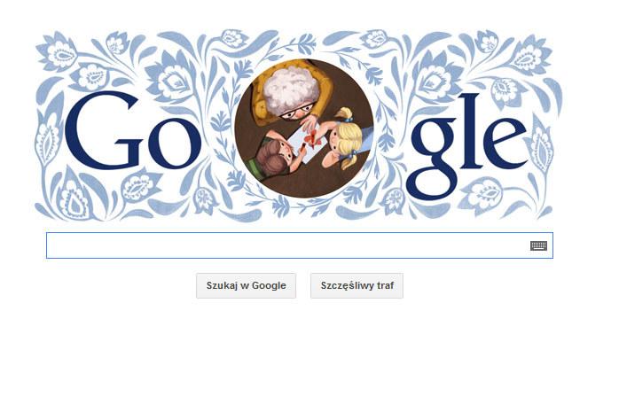 Google Doodle z okazji Dnia Babci /materiały prasowe