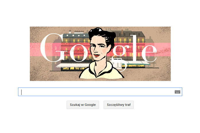 Google Doodle z Simone de Beauvoir /materiały prasowe