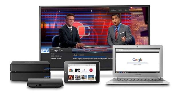 Google Fiber - to niesamowicie szybkiego internetu dodawana jest jeszcze telewizja /materiały prasowe