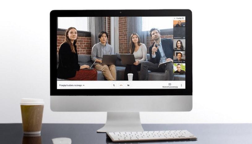Google Hangouts Meet, /materiały prasowe