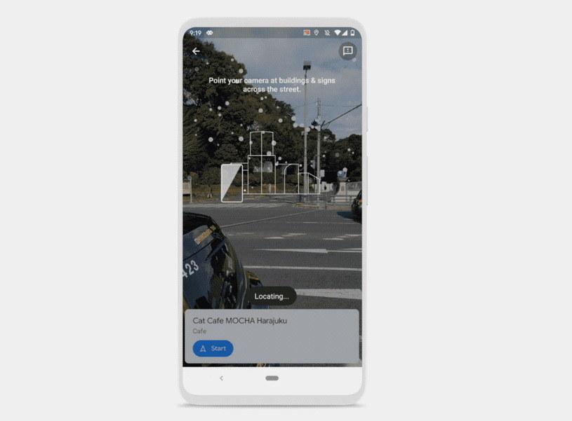 Google Live View łatwiejsze do znalezienia /materiały prasowe