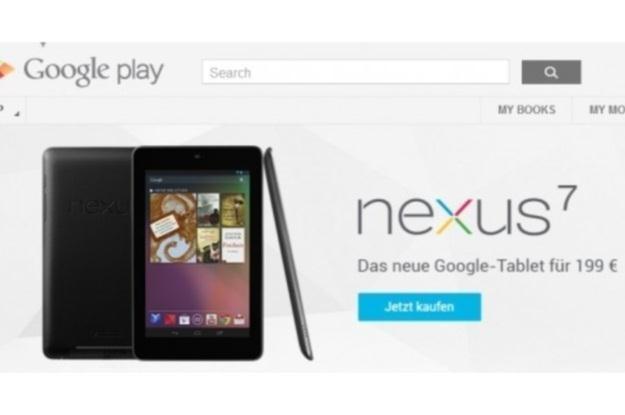 Google Nexus 7 już w Europie /Internet