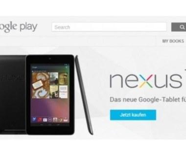 Google Nexus 7 zdobywa Europę