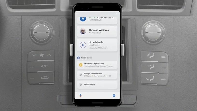 Google odświeża Android Auto /materiały prasowe