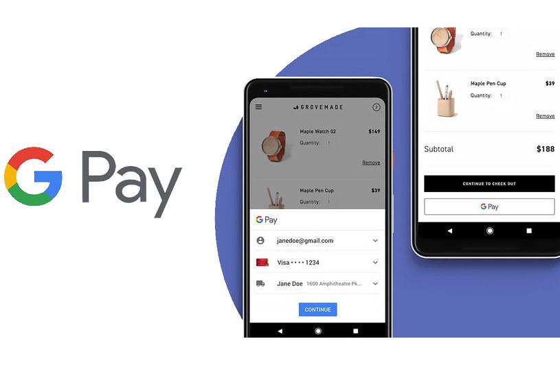 Google Pay wprowadza nowe funkcje /materiały prasowe