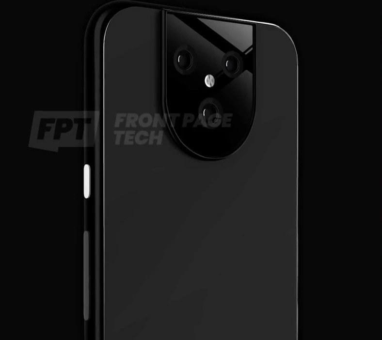 Google Pixel 5 XL render / fot. Frontpage Tech /materiał zewnętrzny
