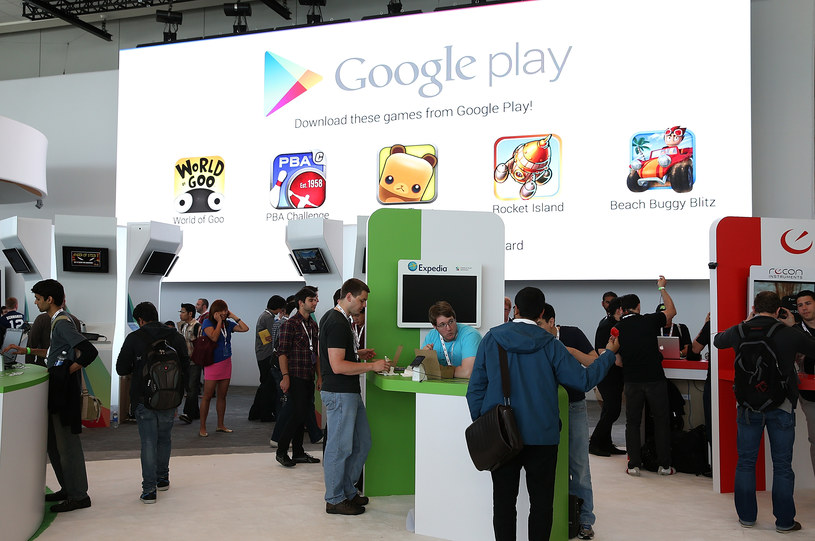 Google Play rozwija się pod względem bezpieczeństwa /AFP