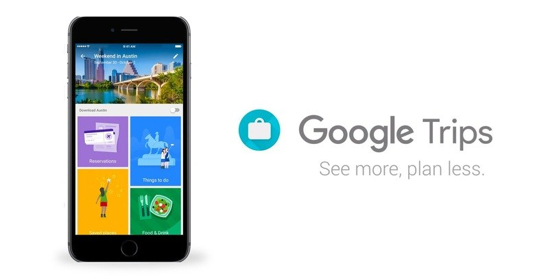 Google Trips /materiały prasowe