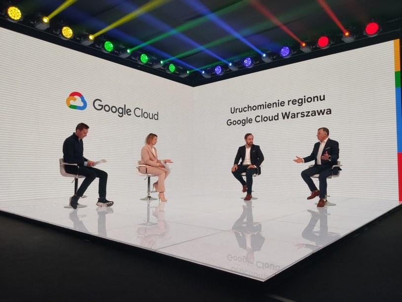 Google uruchomił region Google Cloud Warszawa /materiały prasowe