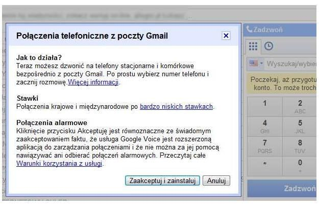 Google Voice - instalator /vbeta