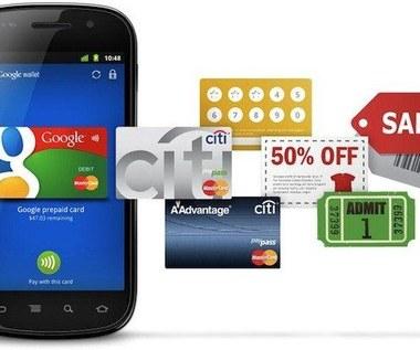 Google Wallet - zastępstwo dla gotówki i kart
