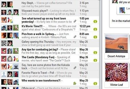 Google Wave łączy w sobie funkcje komunikatora i narzędzia do pracy grupowej /materiały prasowe