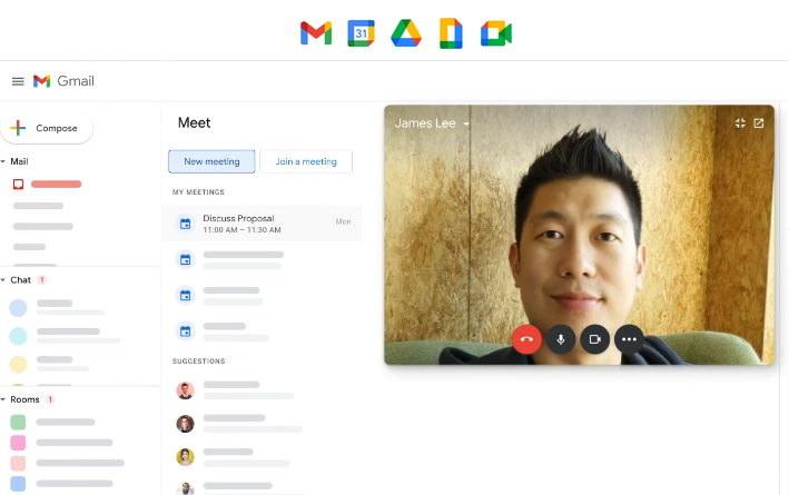 Google Workspace to nie tylko nowe ikony, ale połączenie wszystkich podstawowych narzędzi do komunikacji i współpracy zdalnej /materiały prasowe