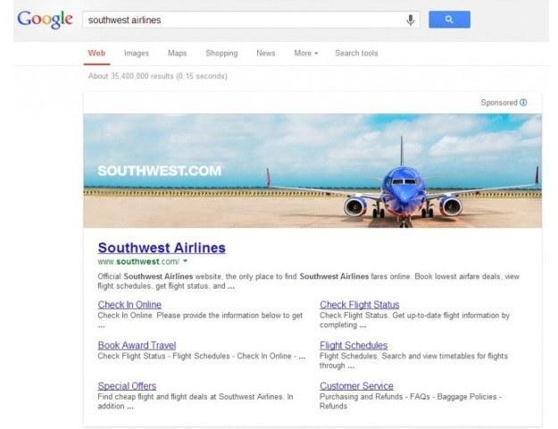 Google wprowadzi wielkoformatowe reklamy /materiały prasowe