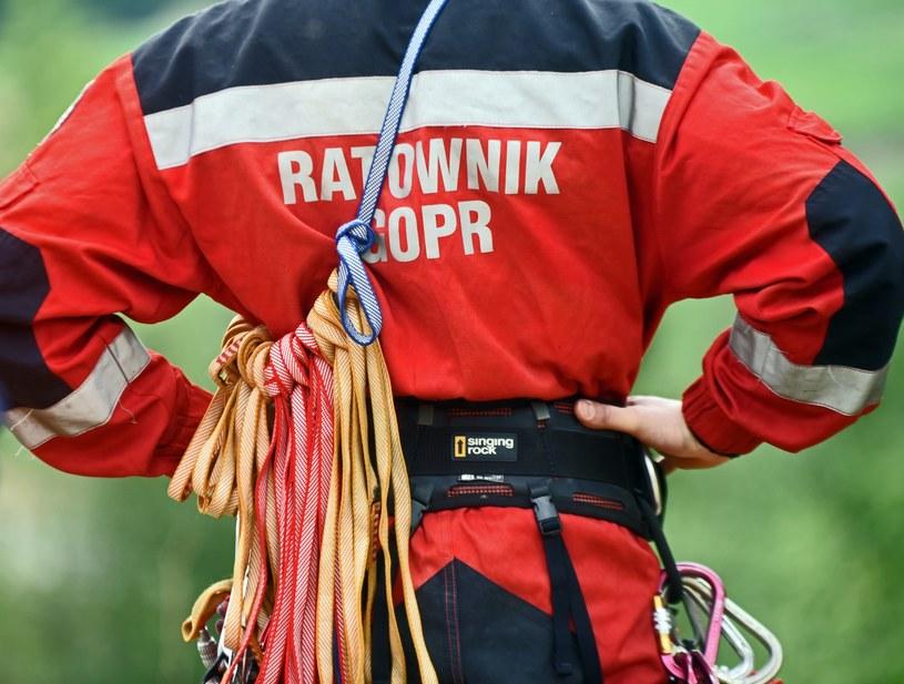 GOPR, zdj. ilustracyjne /Marek Lasyk/REPORTER  /East News