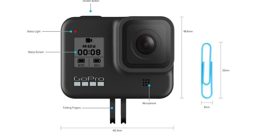 GoPro Hero 8 Black /materiały prasowe