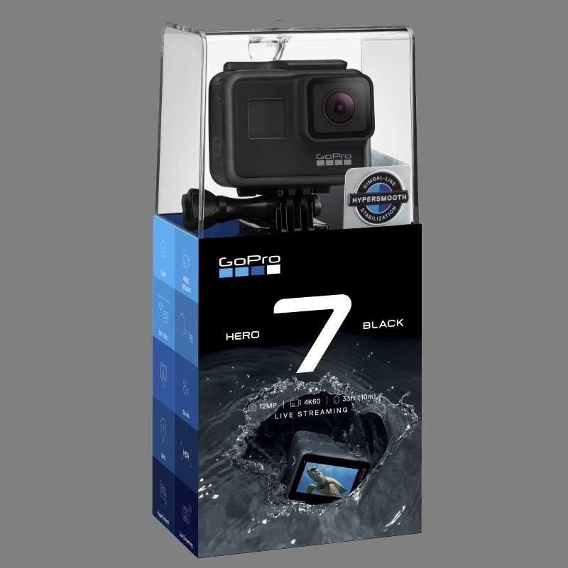 GoPro Hero7 Black - tak wygląda pudełko /materiały prasowe