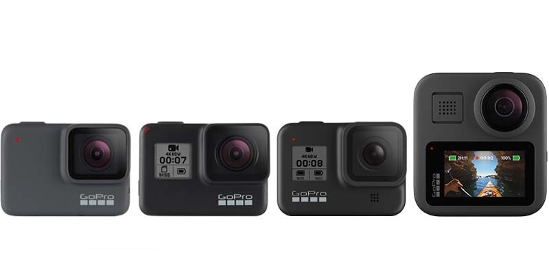 GoPro HERO8 Black i Max /materiały prasowe