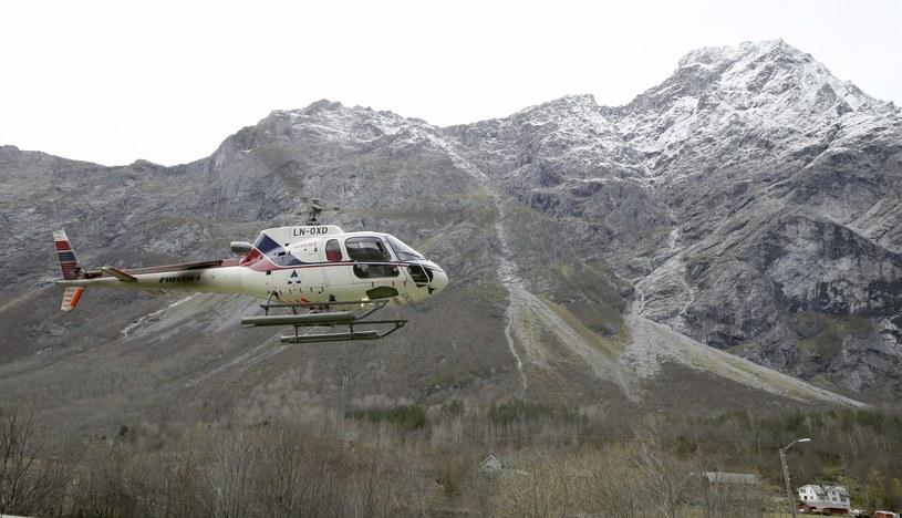 Góra Mannen w Rauma w Norwegii /ERJE PEDERSEN /PAP/EPA