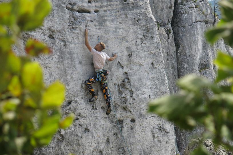 Góra Zborów jest popularnych, choć trudnym terenem wspinaczkowym /Adrian Slazok/REPORTER /East News