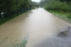 Gorąca Linia: Podnosi się stan wody w potoku Zburzyca
