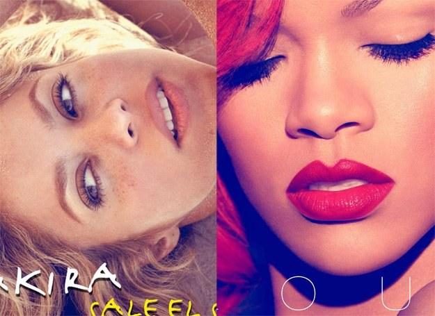 Gorące dziewczyny na zimę: Shakira i Rihanna /