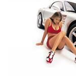 Gorące dziewczyny, szybkie samochody