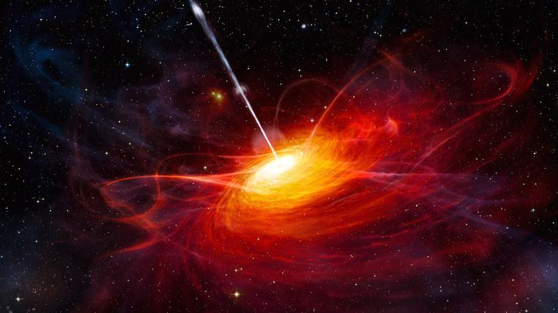 Gorące medium międzygalaktyczne zawiera nawet 30 proc. barionów /123RF/PICSEL