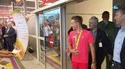 Gorące powitanie Rafała Majki na lotnisku