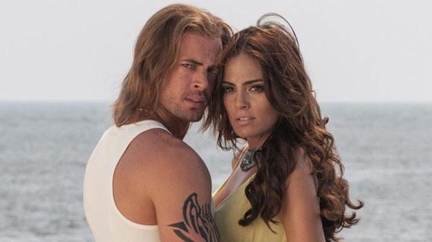 Gorące sceny między Damianem a Mariną zaowocowały równie ognistym romansem Levy'ego i Ximeny /Televisa /materiały prasowe
