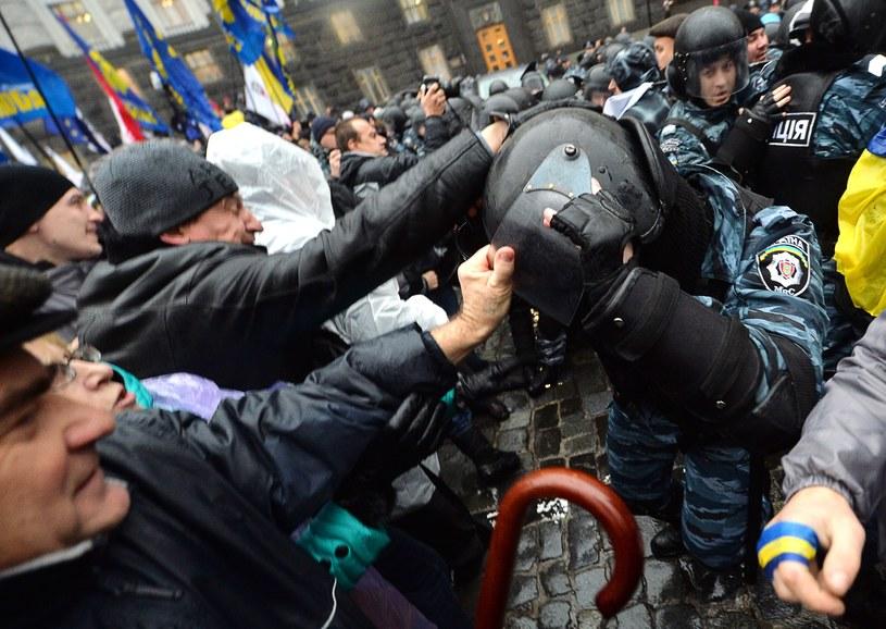 Gorąco na Ukrainie /AFP
