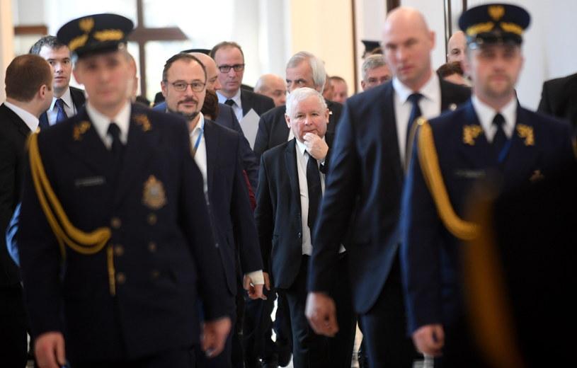 Gorący dzień w Sejmie /Bartłomiej Zborowski /PAP