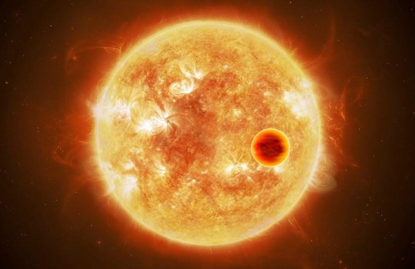 Gorący Jowisz krążący blisko swej gwiazdy /materiały prasowe