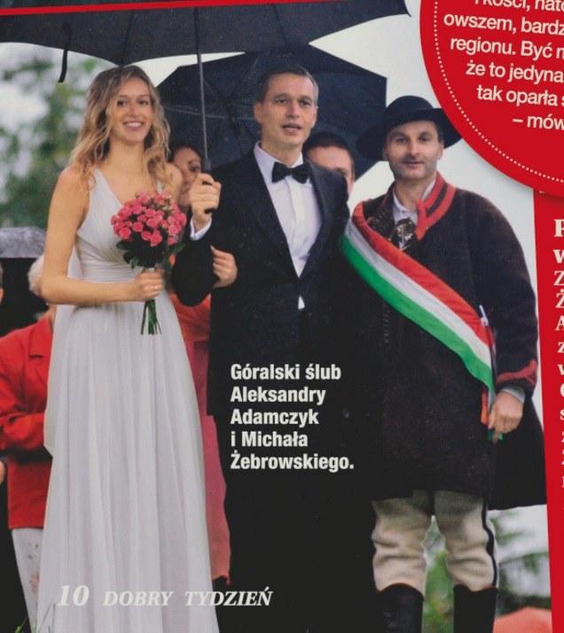 Góralskie wesele Żebrowskich /- /Dobry Tydzień
