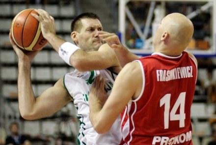 Goran Jagodnik i Przemysław Frasunkiewicz /AFP
