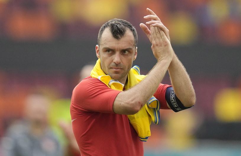 Goran Pandev po meczu z Ukrainą /PAP/EPA