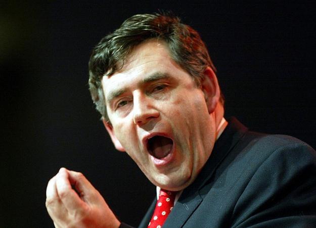 Gordon Brown, były premier Wielkiej Brytanii /AFP