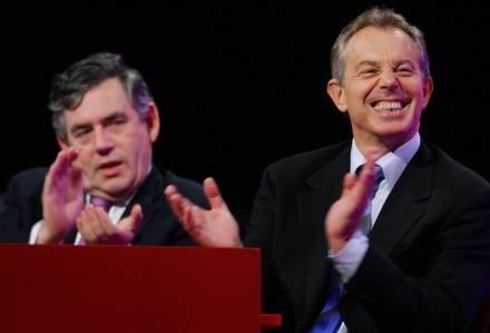 Gordon Brown zastąpi Tony'ego Blaira /AFP