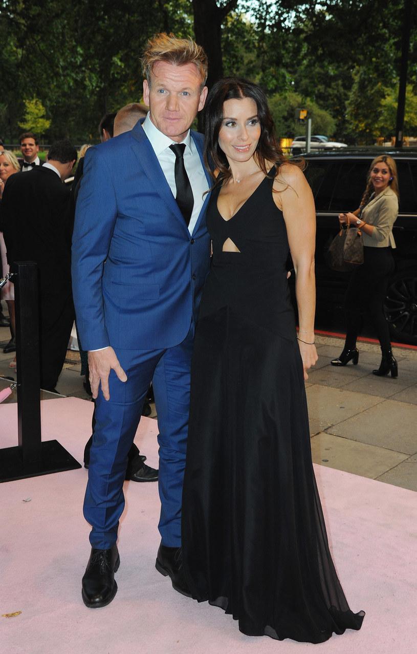 Gordon Ramsay z żoną /Eamonn M. McCormack /Getty Images