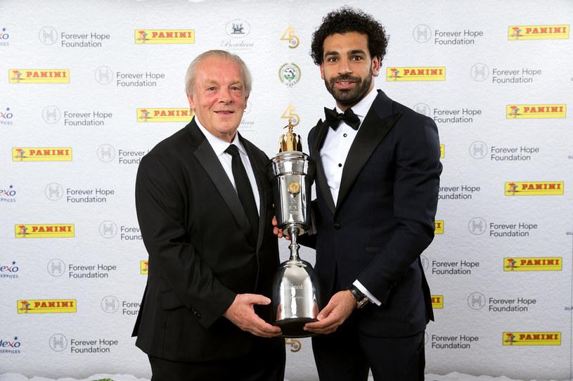 Gordon Taylor i Mohamed Salah /Getty Images