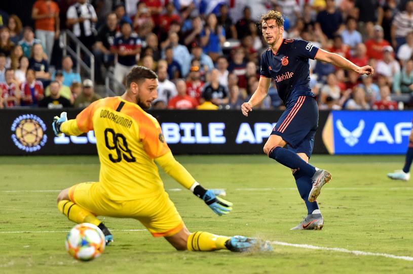 Goretzka strzela jedynego gola dla Bayernu /Getty Images