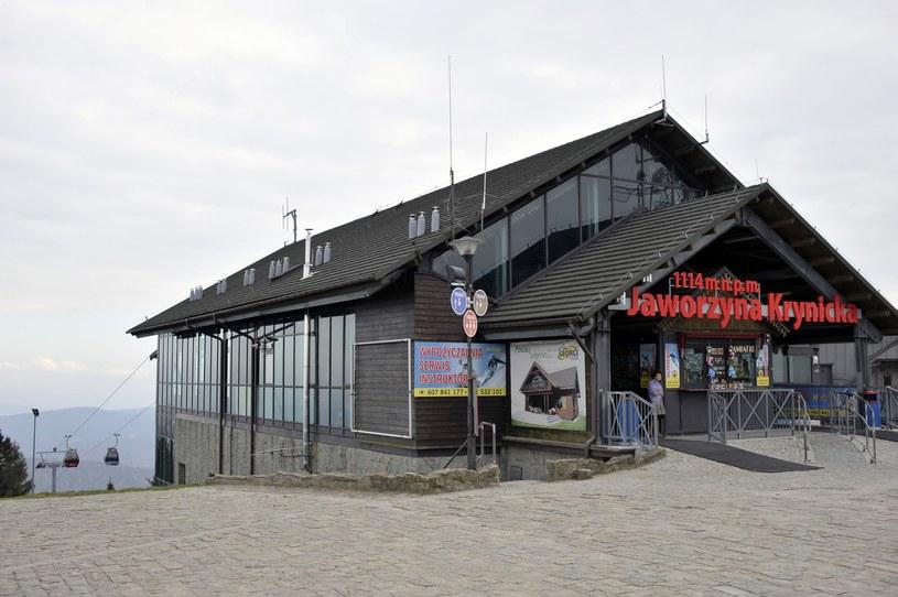 Górna stacja kolejki gondolowej na Jaworzynę Krynicką /Łukasz Kalinowski /East News
