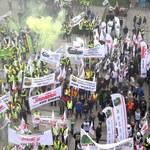 """Górnicy, hutnicy, kolejarze znów zastrajkują, tym razem w Warszawie. """"Punkt kulminacyjny protestu"""""""