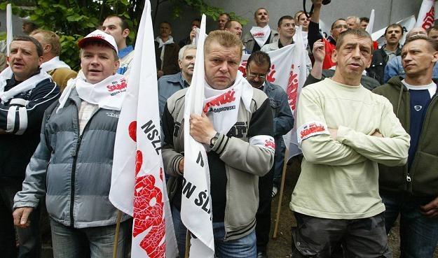 Górnicy z Jastrzębia znowu chcą strajkować. Fot. PIOTR GAJEK /Agencja SE/East News