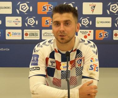 Górnik Zabrze. Bartosz Nowak po 1-3 z Rakowem. Wideo